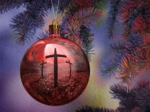 cross and christmas