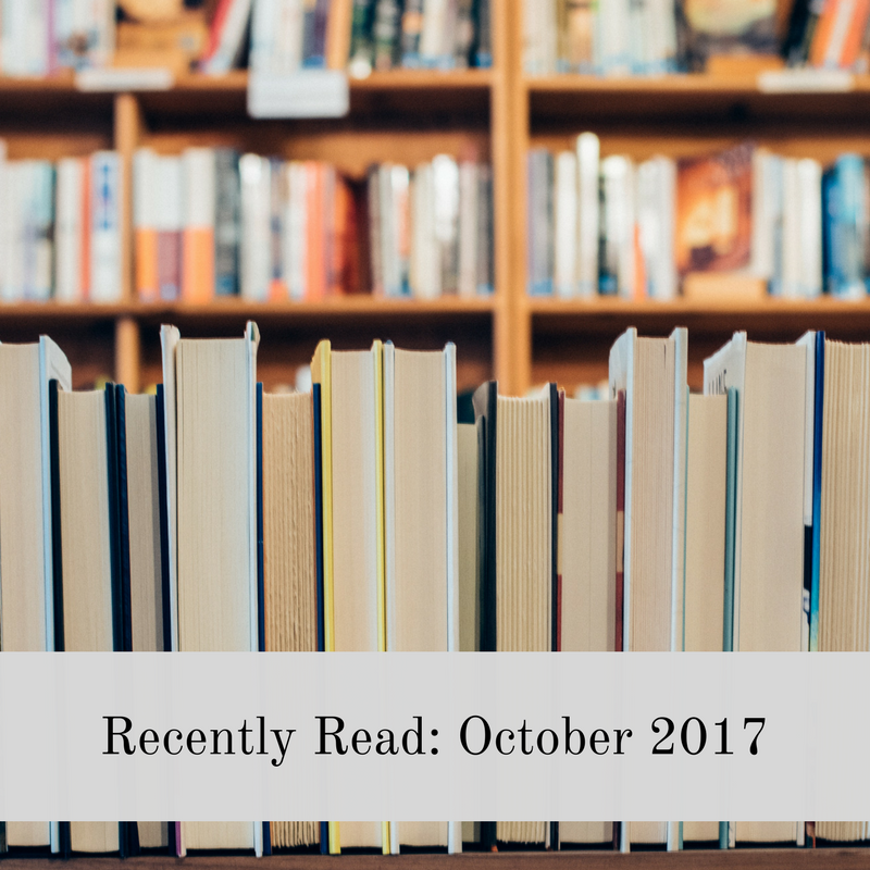 Recently Read - Oct 2017