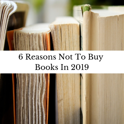 6 reasons not to buy books in 2019