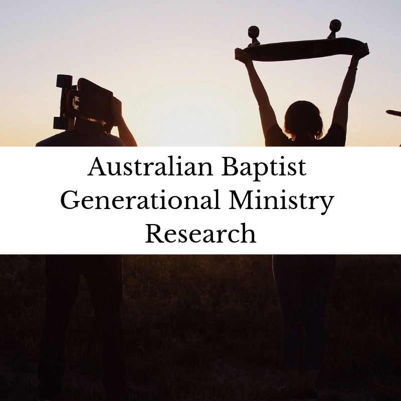 Australian Baptist Generational Ministry Research