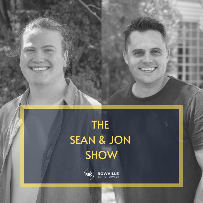 The Sean & Jon Show - Podcast Graphic